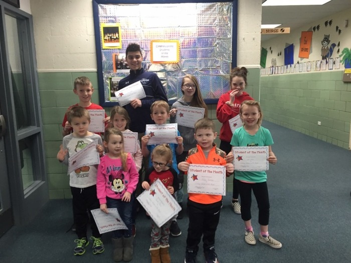 RGS's January students of the month
