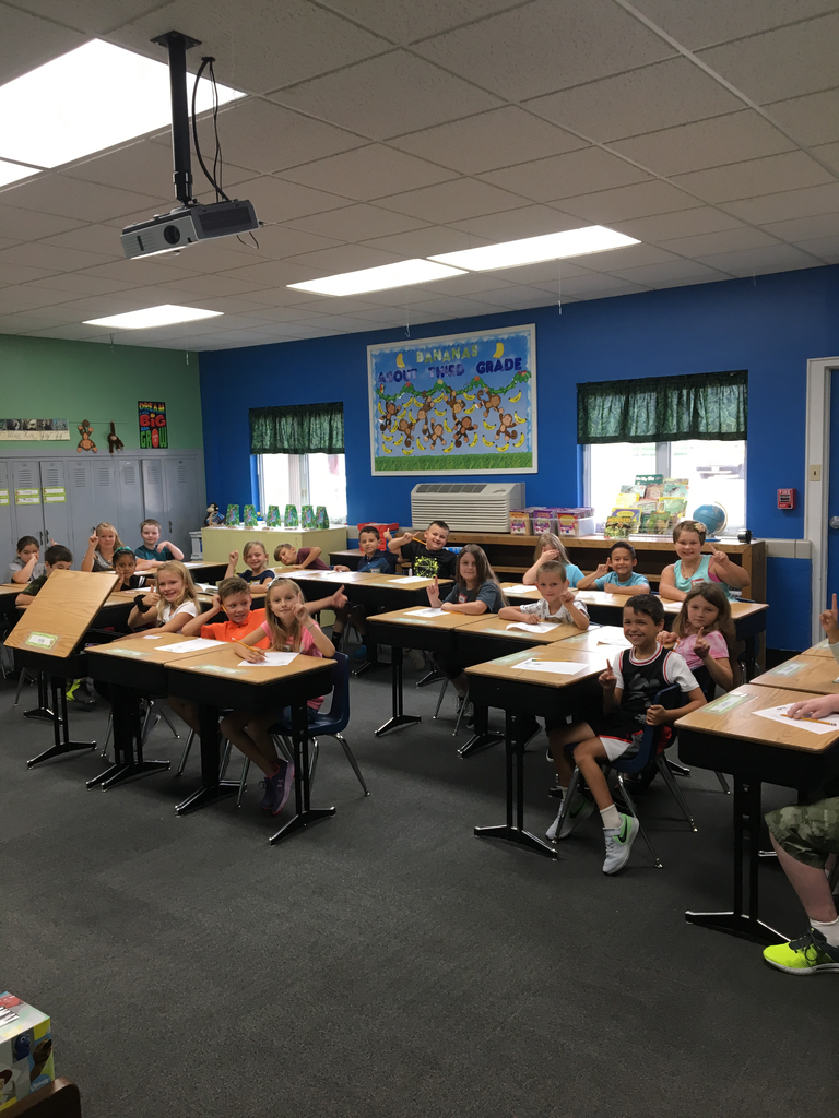3rd grade-already busy!